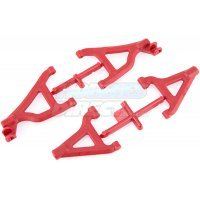 RPM Red 1/16 Slash/Rally Front Lower & Upper Suspension Arm Set