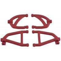 RPM Red 1/16 Slash Rear Suspension Arm Set