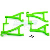 RPM Green 1/16 E-Revo Front Upper & Lower Suspension Arm Set