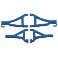 RPM Blue 1/16 E-Revo Front Upper & Lower Suspension Arm Set