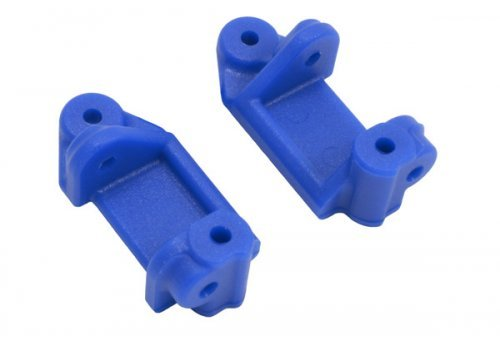 RPM Blue Traxxas Slash 2WD/Nitro Slash/E-Stampede/E-Rustler Left & Right Caster Blocks
