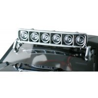RPM Chrome Universal Mount 6 Bucket Light Bar Set