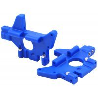 RPM Blue T/E-Maxx Rear Bulkhead Set