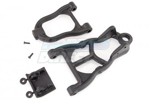 RPM Black Baja Front Upper & Lower Suspension Arms