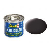 Revell 06 Matte Black Tar Enamel Paint 14ml