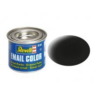 Revell 08 Matte Black Enamel Paint 14ml