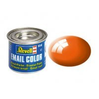 Revell 30 Gloss Orange Enamel Paint 14ml