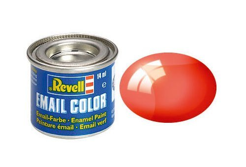 Revell 731 Clear Red Enamel Paint 14ml