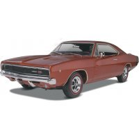 Revell 1/25 1968 Dodge Charger Scaled Plastic Model Kit
