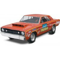 Revell 1/25 1968 Dodge Hemi Dart 2 'n 1 Scaled Plastic Model Kit