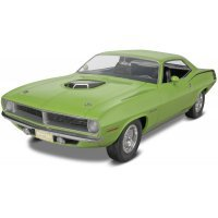Revell 1/25 1970 Plymouth Hemi Cuda 2 'n 1 Scaled Plastic Model Kit