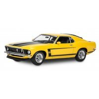 Revell 1/25 1969 Ford Boss 302 Mustang Scaled Plastic Model Kit