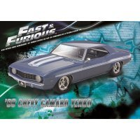 Revell 1/25 Fast & Furious 1969 Chevrolet Camaro Yenko Scaled Plastic Model Kit