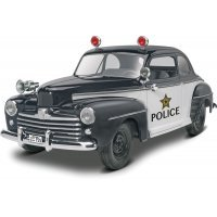 Revell 1/25 1948 Ford Police Coupe 2 'n 1 Scaled Plastic Model Kit