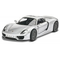 Revell 1/24 Porsche 918 Spyder Scaled Plastic Model Kit