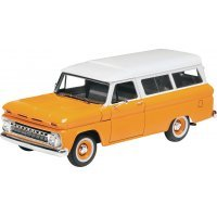 Revell 1/25 1966 Chevrolet Suburban Scaled Plastic Model Kit