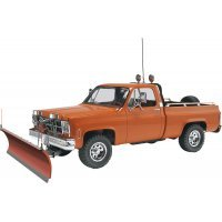 Revell 1/24 GMC Pickup w/ Snow Plow Scaled Plastic Model Kit