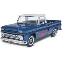 Revell 1/25 1966 Chevrolet Fleetside Pickup Scaled Plastic Model Kit