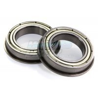 Rovan 15x24x5mm Metal Shielded Flanged Bearings 2Pcs