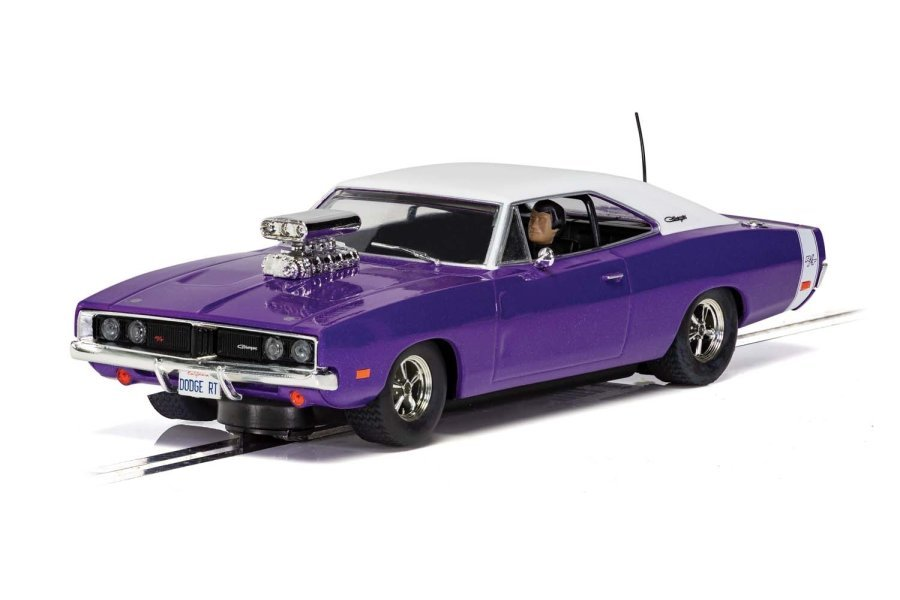 Scalextric 1/32 Dodge Charger R/T Purple Slot Car