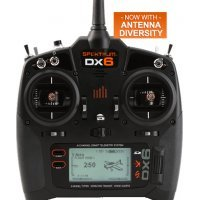 Spektrum DX6 2.4Ghz 6ch Mode 1 Radio w/ AR6600T Receiver