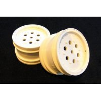 "Tamiya Hotshot 2.2"" White Rear Rims 2Pcs"