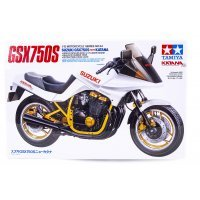Tamiya 1/12 Suzuki GSK750S Motorcycle Plastic Model Kit