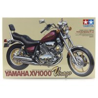 Tamiya 1/12 Yamaha Virago XV1000 Motorcycle Plastic Model Kit