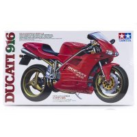 Tamiya 1/12 Ducati 916 Motorcycle Plastic Model Kit