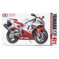 Tamiya 1/12 Yamaha YZF-R1 Motorcycle Plastic Model Kit