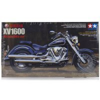 Tamiya 1/12 Yamaha XV1600 Roadster Motorcycle Plastic Model Kit