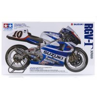 Tamiya 1/12 Suzuki RGV-T (XR89) Motorcycle Plastic Model Kit
