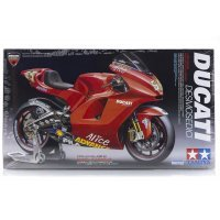 Tamiya 1/12 Ducati Desmosedici Motorcycle Bike Plastic Model Kit