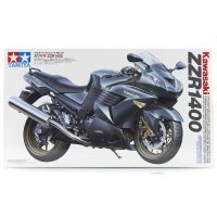 Tamiya 1/12 Kawasaki ZZR1400 Motorcycle Plastic Model Kit