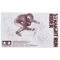 Tamiya 1/12 Straight Run Rider Figure Plastic Model