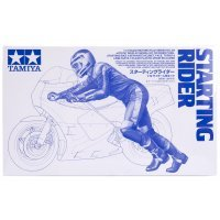 Tamiya 1/12 Starting Rider Figure Plastic Model