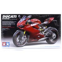 Tamiya 1/12 Ducati 1199 Panigale S Motorcycle Plastic Model Kit