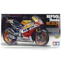 Tamiya 1/12 Repsol Honda RC212V 14 Motorcycle Plastic Model Kit