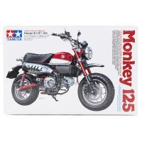 Tamiya 1/12 Honda Monkey 125 Motorcycle Plastic Model Kit
