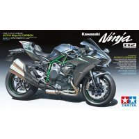 Tamiya 1/12 Kawasaki Ninja H2 Carbon Motorcycle Plastic Model Kit