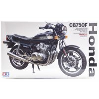 Tamiya 1/6 Honda CB750F Motorcycle Plastic Model Kit