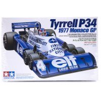 Tamiya 1/20 Tyrrell P34 1977 Monaco GP F1 Plastic Model Kit