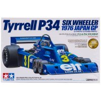 Tamiya 1/20 Tyrrell P34 1976 Six Wheeler F1 Plastic Model Kit