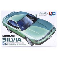 Tamiya 1/24 Nissan Silvia Scaled Plastic Model Kit