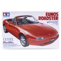 Tamiya 1/24 Mazda Eunos Roadster/MX-5 Scaled Plastic Model Kit