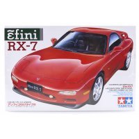 Tamiya 1/24 Mazda Efini RX-7 Scaled Plastic Model Kit