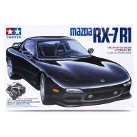 Tamiya 1/24 Mazda RX-7 R1 Scaled Plastic Model Kit