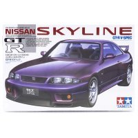 Tamiya 1/24 Nissan GT-R V-Spec Scaled Plastic Model Kit