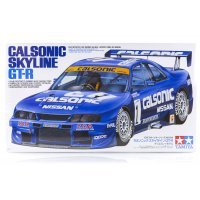 Tamiya 1/24 Nissan Calsonic Skyline R33 GT-R Scaled Plastic Model Kit