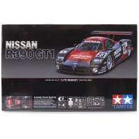 Tamiya 1/24 Nissan R390 GT1 Scaled Plastic Model Kit